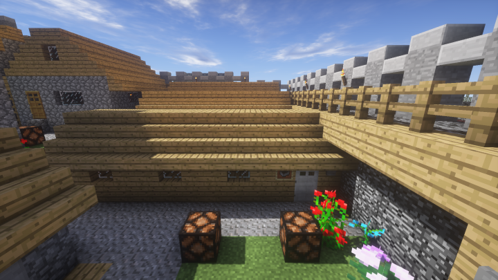 Entrance to the Dungeons, Mineshafts and Mines