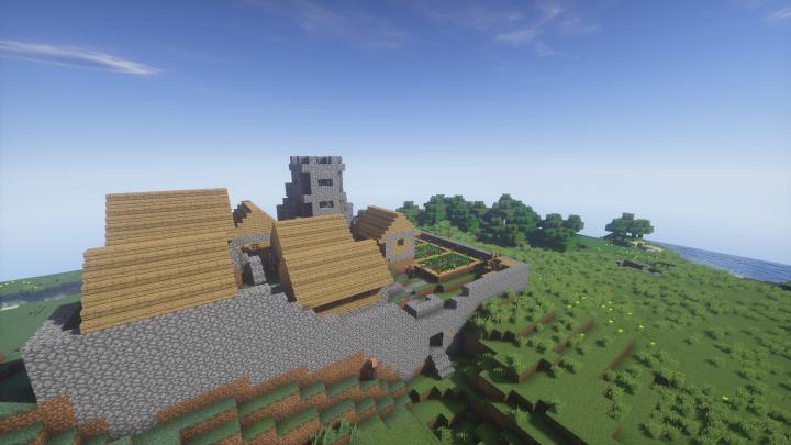 Custom build village The Hill