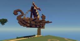 Viking Boat Minecraft Project
