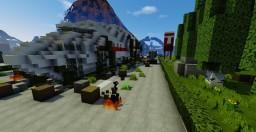 Airplane crash Minecraft