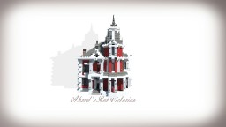 Ahzvel's Red Victorian! + Download! Minecraft Map & Project