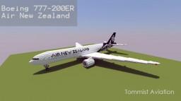 Boeing 777-200ER Air New Zealand [+Download] Minecraft