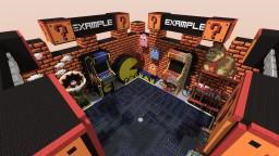 Arcade Mash Up-Server Hub Minecraft Map & Project