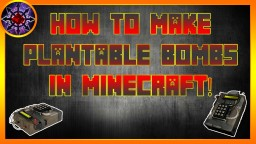 How To Make Plantable Bombs In Minecraft! Minecraft Project