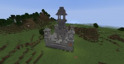 Chunk sized spawn castle Minecraft Map & Project