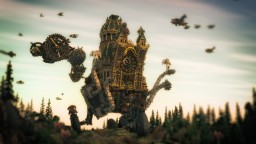 Bathoria - the wandering castle Minecraft Project