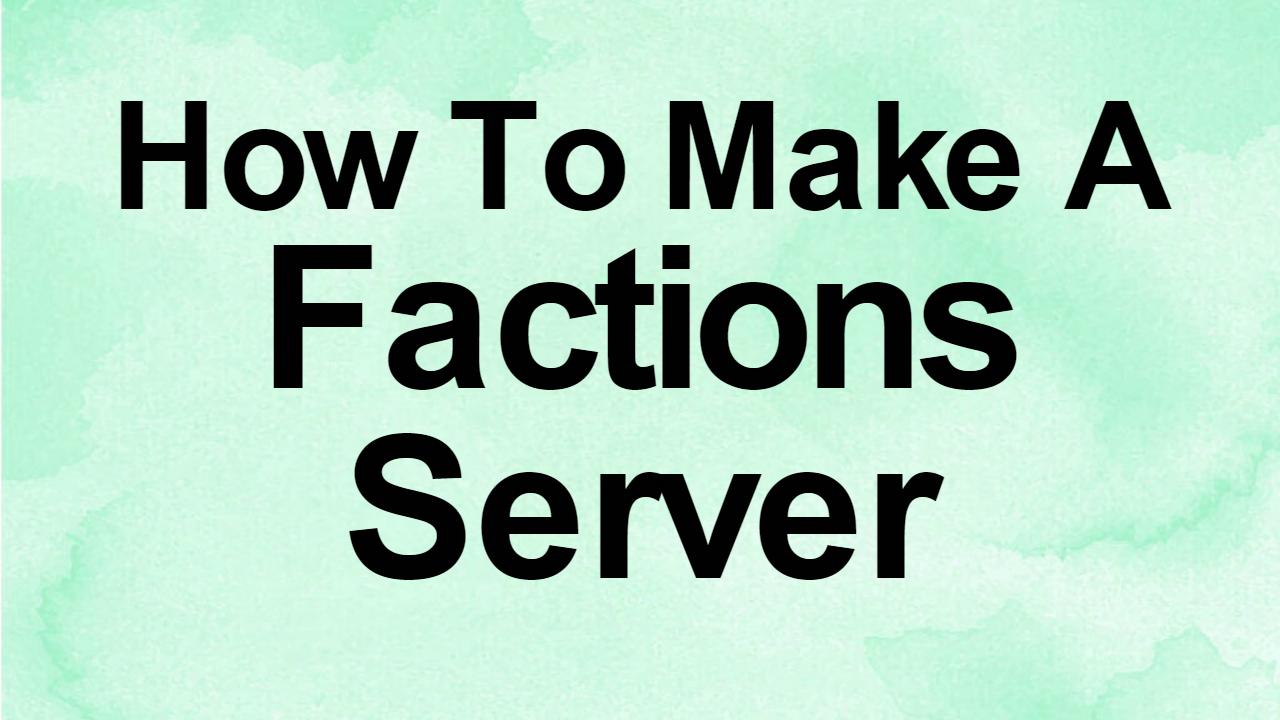 how to set up a mc server