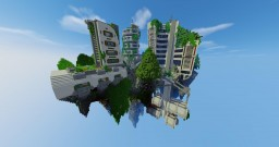Floating Islands - Sustainable City Project Contest Minecraft Map & Project