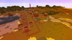 Small Medieval Town Minecraft Map & Project