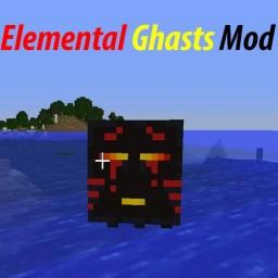 Elemental Ghasts Mod 1.10