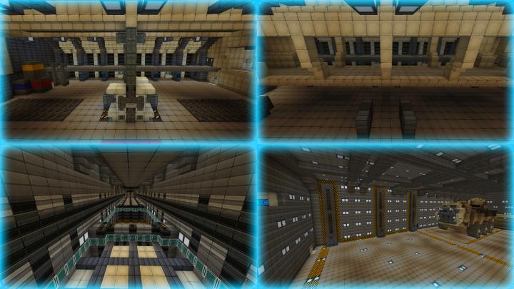 Cryo bay A, Cryo bay B, Cryo pods elevators airlocks, Vehicle bay 4 elevator.