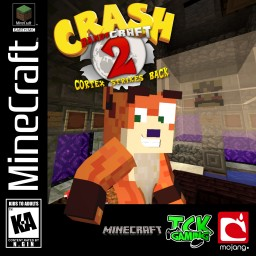 Crash BandiCRAFT 2 (Crash Bandicoot 2 Remake) W.I.P 2017 Minecraft Map & Project