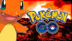 Pokemon Go Texture Pack   Red Charmander Fire