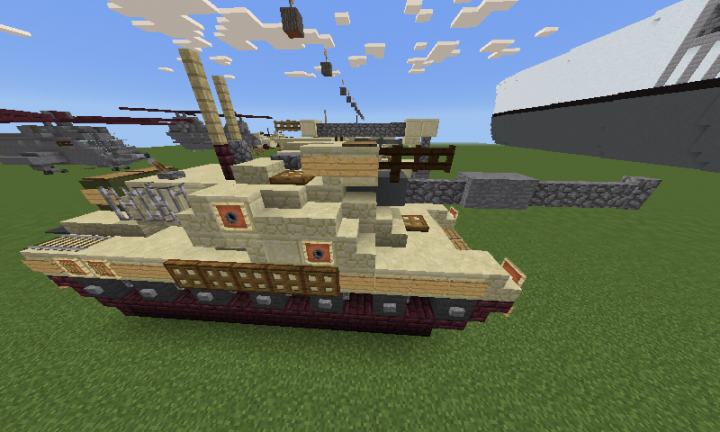 f34fba69206d Challenger 2 MBT   IMPROVED  Minecraft Project