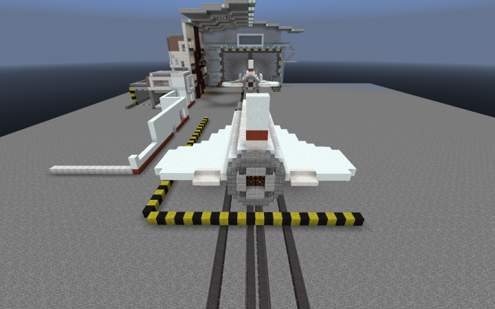 Buran Space Shuttle Minecraft Project