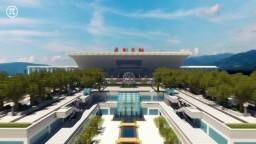 Shenzhen North Railway Station[1:1] Minecraft Map & Project