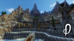 Buildteam Patheria - ARCTIC CASTLE Minecraft Project
