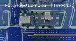 McDonalds + Nando's | Fast Food Complex | VoidStar MC Minecraft Project