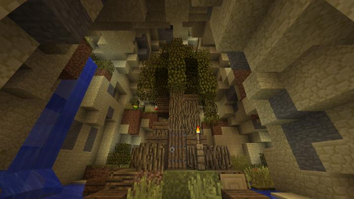 Minecraft world surface area