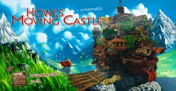 Howl's Moving Castle Minecraft Project
