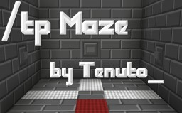/tp Maze by Tenuto_ Minecraft Map & Project