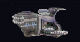 Lonely Space-cruiser thingy Minecraft