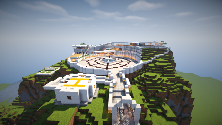 Tony Stark Mansion Minecraft Project