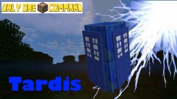Tardis - Only One Command Minecraft Map & Project