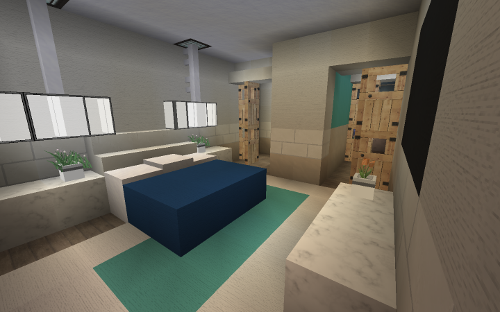 Waves Beach Home Minecraft Project
