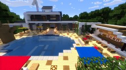 Modern House By Astroz59 Minecraft