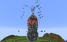 Coke + Mentos Minecraft Map & Project