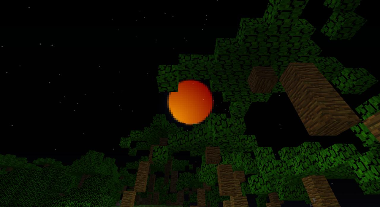 Solar Eclipse Minecraft Project