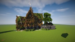 Jungle Style Bank/Auction House - Cythrone Minecraft Map & Project