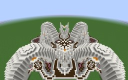 Simple SMP spawn with shops Minecraft Map & Project