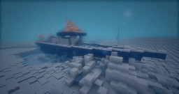 Fishing Boat stuck in the snow storm Minecraft Project