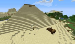 Minecraft Pyramid With Traps And Story Minecraft Map & Project