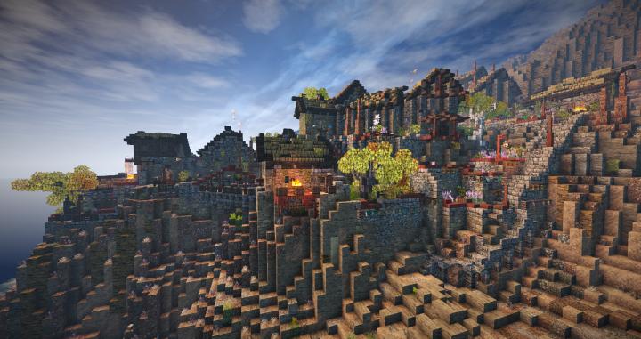 Ruins, before ...
