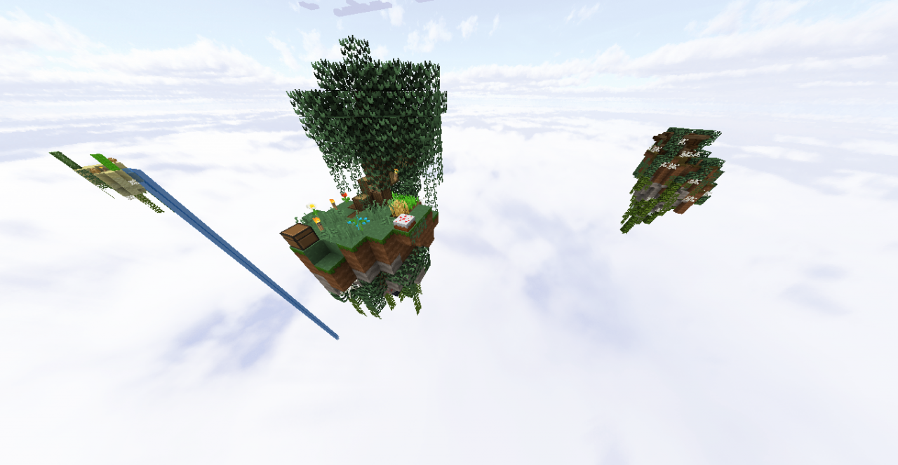 how to make skyblock map