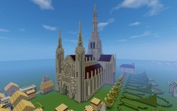 Gothic Cathedral Minecraft Project