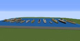 Sydney Ferries and other ships Minecraft Map & Project
