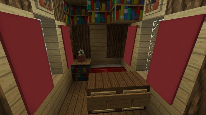 Smaller house interior