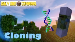 Cloning - Only One Command Minecraft Project