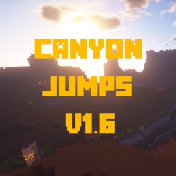 Canyon Jumps v1.7 - Jump'n'Run-Map Minecraft Map & Project