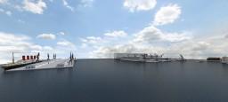 Atlantic-Titan Shipyard Minecraft Map & Project