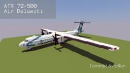 ATR 72-500 Air Dolomiti [New version][+Download] Minecraft Project