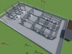 Manitoba Hydro Substation Minecraft