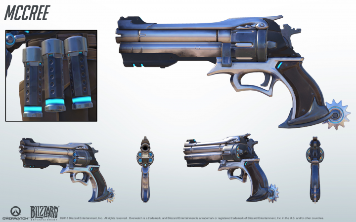 McCree s Revolver From the Game