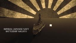 IJN Nagato 1944 - Nagato Class Battleship Minecraft