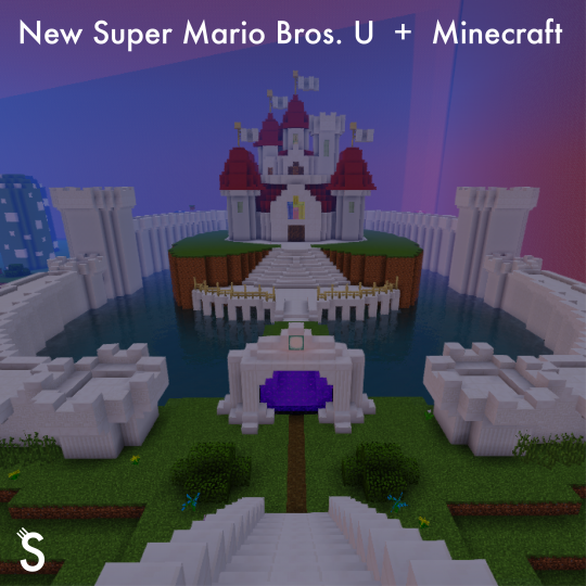 New Super Mario Bros U Minecraft Minecraft Map