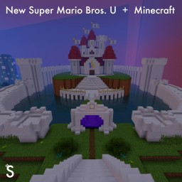 New Super Mario Bros. U + Minecraft Minecraft
